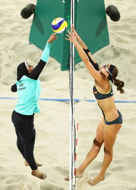 the naked truth about the burkini ban #2_New_Love_Times