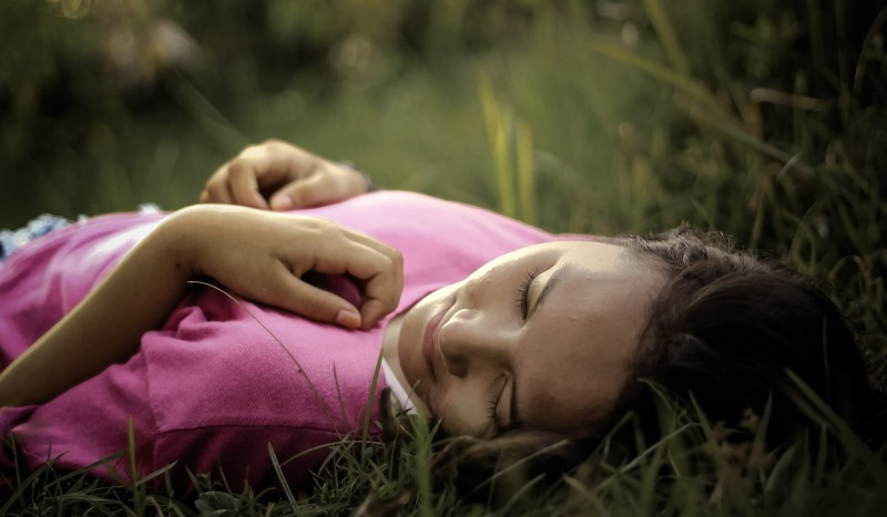 girl lying on the ground_New_Love_Times