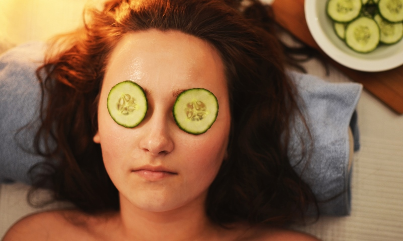 woman with cucumbers on eyes_New_Love_Times