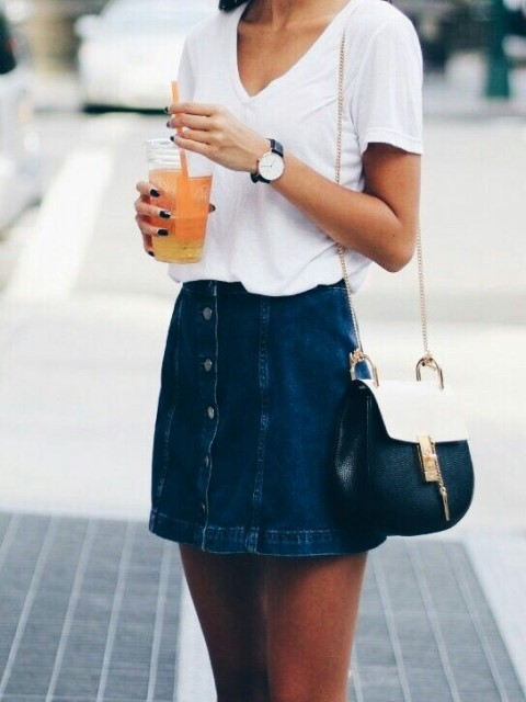 how to wear a denim skirt_New_Love_Times