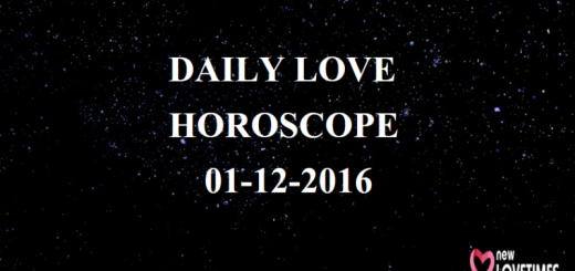 daily-love-horoscope Dec 1, 2016_New_Love_Times