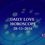 #AstroSpeak Daily Love Horoscope For 28th November, 2016