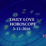 #AstroSpeak Daily Love Horoscope For 3rd November, 2016