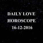 #AstroSpeak Daily Love Horoscope For 16th December, 2016