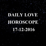 #AstroSpeak Daily Love Horoscope For 17th December, 2016