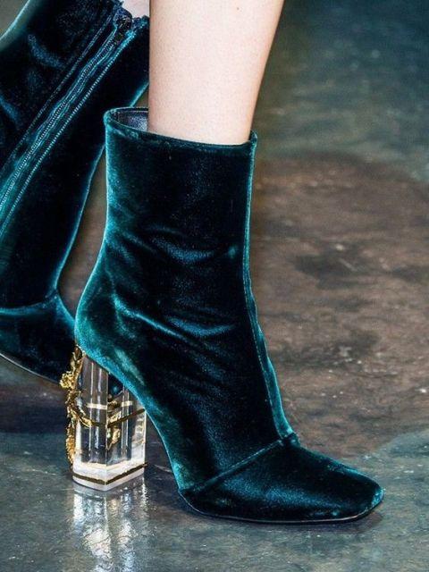 chunky heel boots_New_Love_Times