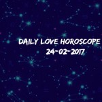 #AstroSpeak Daily Love Horoscope For 24th  February, 2017