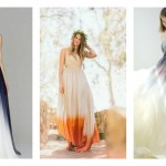 20 Of The Most Gorgeous Dip Dye Wedding Dresses You Have Ever Seen