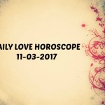 #AstroSpeak Daily Love Horoscope For 11th March, 2017