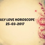 #AstroSpeak Daily Love Horoscope For 25th March, 2017