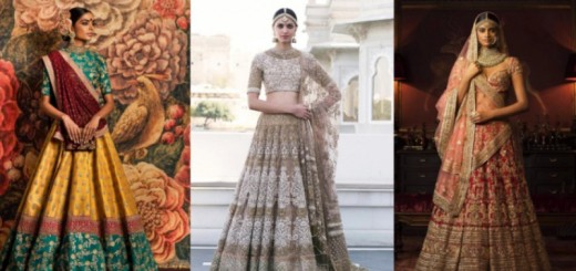 wedding lehengas by Sabyasachi_new_love_times