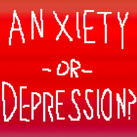 difference between anxiety and depression 2