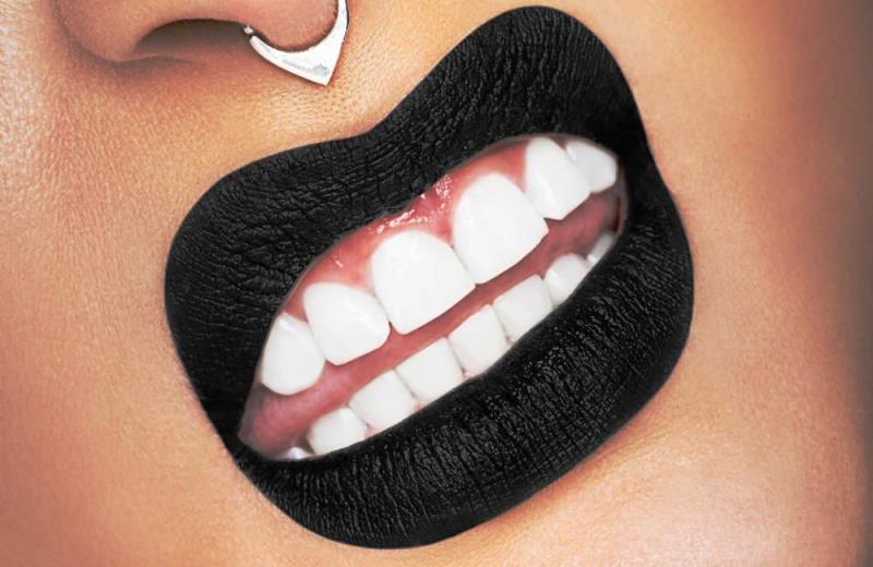 3. Melt Cosmetics Lipstick in Bane