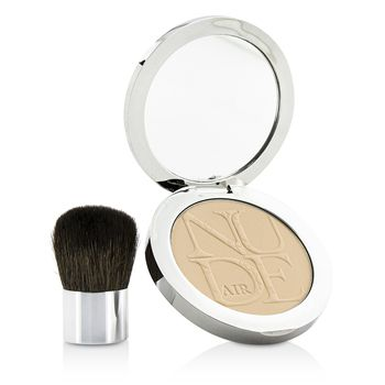 Diorskin Nude Air Healthy Glow Invisible Powder (With Kabuki Brush)