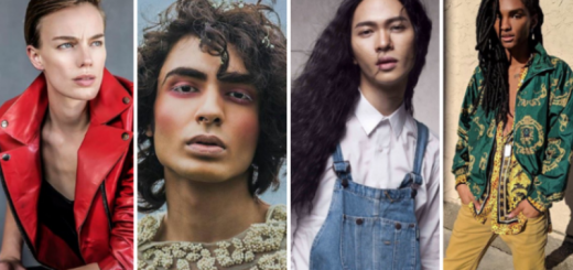 androgynous models