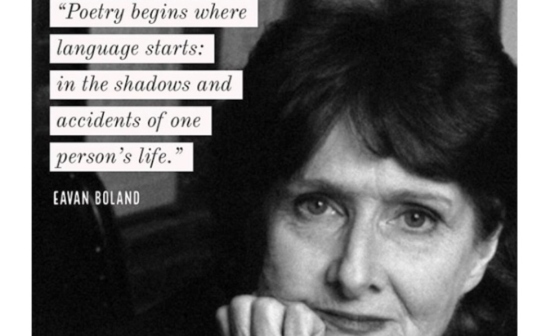 Eavan Boland poems_New_Love_Times